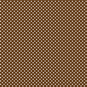 mini polka dots 2 brown and white
