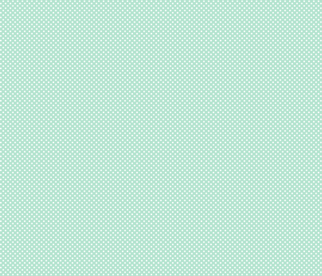 mini polka dots 2 mint green and white fabric by misstiina on Spoonflower - custom fabric