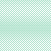 mini polka dots 2 mint green