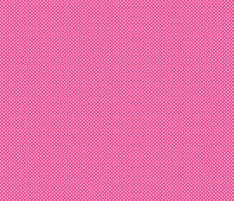 mini polka dots 2 dark pink and white fabric by misstiina on Spoonflower - custom fabric