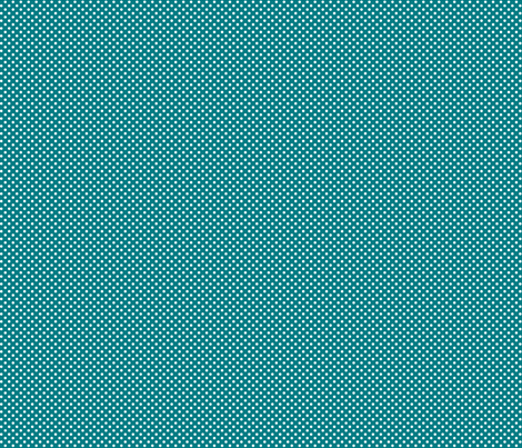 mini polka dots 2 dark teal and white fabric by misstiina on Spoonflower - custom fabric