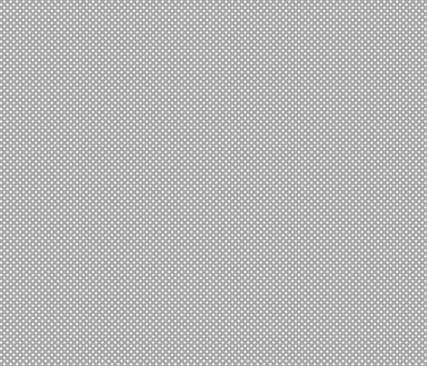 mini polka dots 2 grey and white fabric by misstiina on Spoonflower - custom fabric