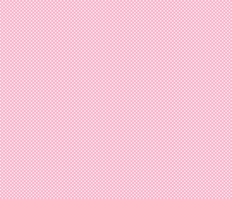mini polka dots 2 light pink and white fabric by misstiina on Spoonflower - custom fabric