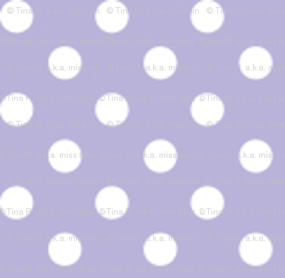 mini polka dots 2 light purple