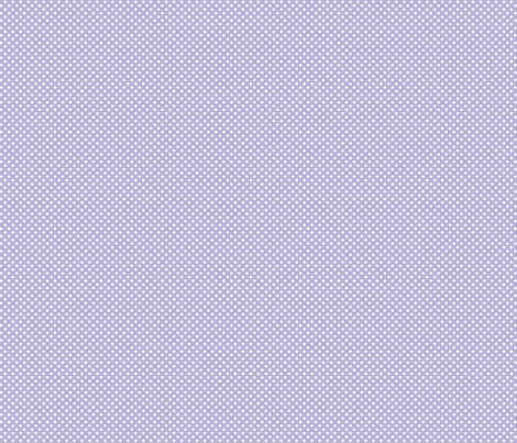 mini polka dots 2 light purple and white fabric by misstiina on Spoonflower - custom fabric