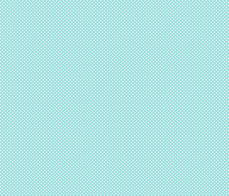 mini polka dots 2 light teal fabric by misstiina on Spoonflower - custom fabric