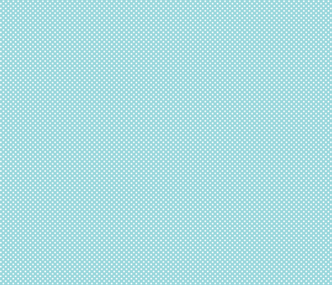mini polka dots 2 teal and white fabric by misstiina on Spoonflower - custom fabric