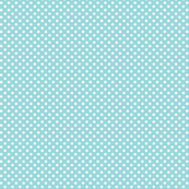 mini polka dots 2 teal and white