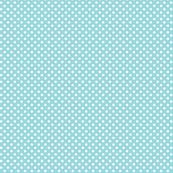 mini polka dots 2 teal and white