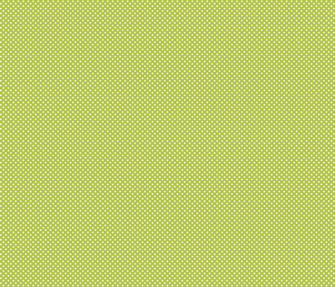 mini polka dots 2 lime green and white fabric by misstiina on Spoonflower - custom fabric