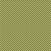 mini polka dots 2 olive green and white