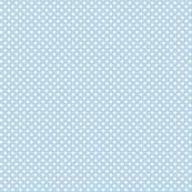 mini polka dots 2 powder blue and white