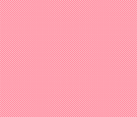 mini polka dots 2 pretty pink and white fabric by misstiina on Spoonflower - custom fabric