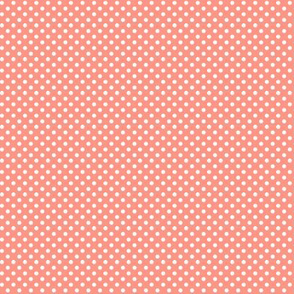 mini polka dots 2 peach