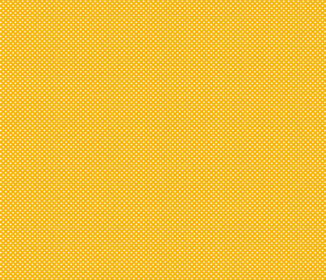 mini polka dots 2 pumpkin orange and white fabric by misstiina on Spoonflower - custom fabric