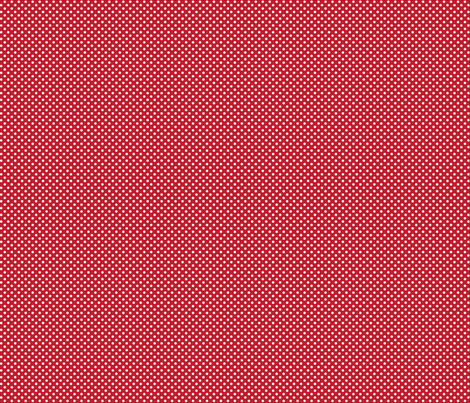 mini polka dots 2 red and white fabric by misstiina on Spoonflower - custom fabric