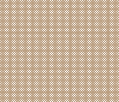 mini polka dots 2 tan fabric by misstiina on Spoonflower - custom fabric