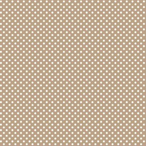 mini polka dots 2 tan