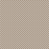 mini polka dots 2 tan and white