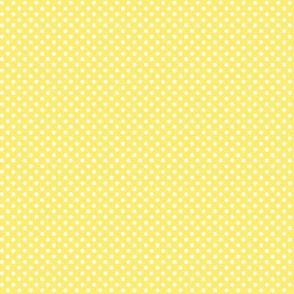 mini polka dots 2 lemon yellow