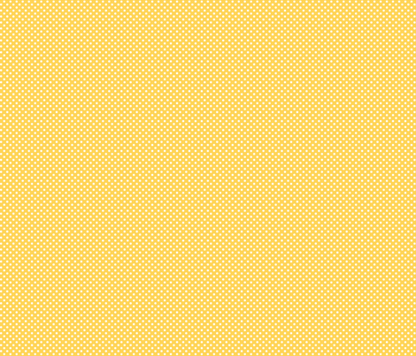 mini polka dots 2 yellow and white fabric by misstiina on Spoonflower - custom fabric