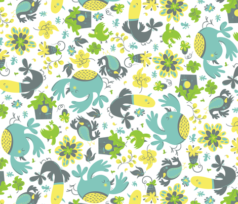 FlockTogether fabric by andi_butler on Spoonflower - custom fabric