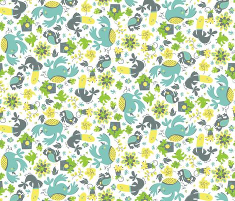 FlockTogether fabric by andi_butler on Spoonflower - custom fabric