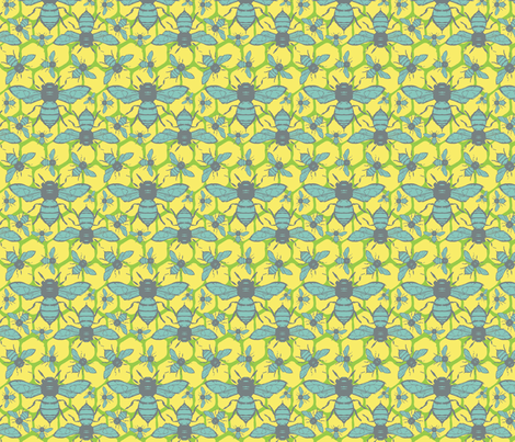 TheHive fabric by acpeden on Spoonflower - custom fabric