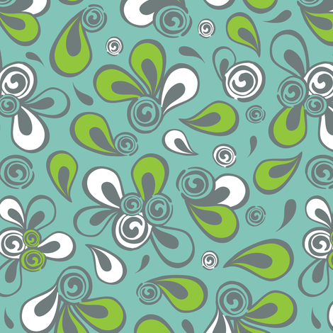 Mod Swoop fabric by heatherdutton on Spoonflower - custom fabric