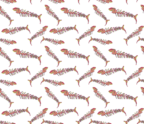 matisse_fish-ch fabric by the_bearded_lady on Spoonflower - custom fabric