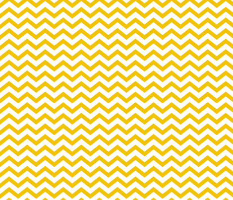 chevron golden yellow and white fabric by misstiina on Spoonflower - custom fabric