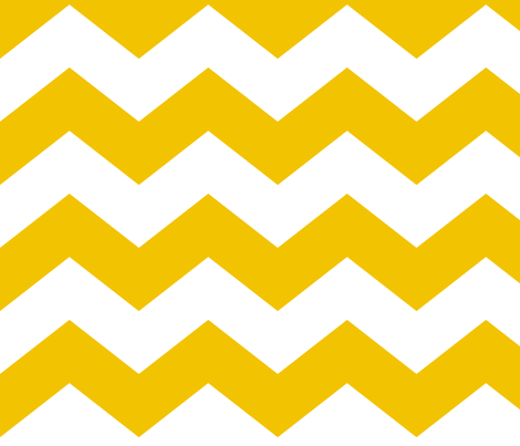 chevron lg golden yellow and white fabric by misstiina on Spoonflower - custom fabric