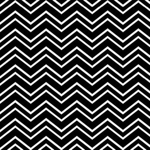 chevron no2 black