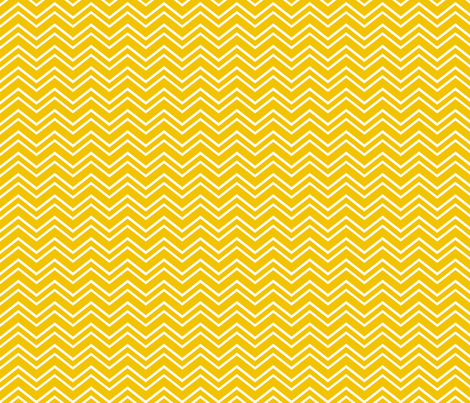 chevron no2 golden yellow and white fabric by misstiina on Spoonflower - custom fabric