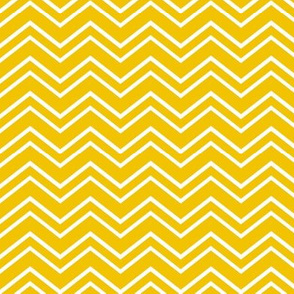 chevron no2 golden yellow and white