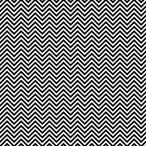 chevron pinstripes black and white fabric by misstiina on Spoonflower - custom fabric