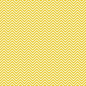 chevron pinstripes golden yellow and white