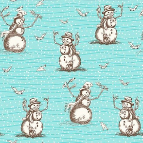 Winter Fun Snowman