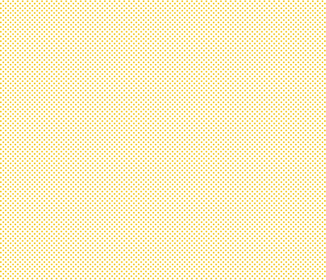 mini polka dots golden yellow and white fabric by misstiina on Spoonflower - custom fabric