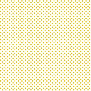 mini polka dots mustard
