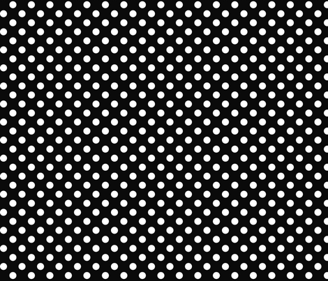 polka dots 2 black and white