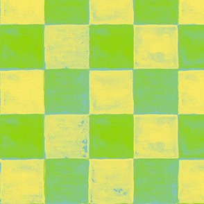 Green & yellow tiles