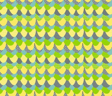 Bird Feathers fabric by emilyannstudio on Spoonflower - custom fabric