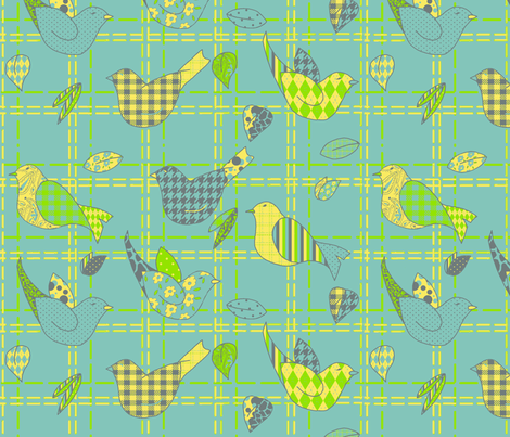 Flight Patterns fabric by mbsterling on Spoonflower - custom fabric
