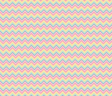 live free : love life chevron fabric by misstiina on Spoonflower - custom fabric