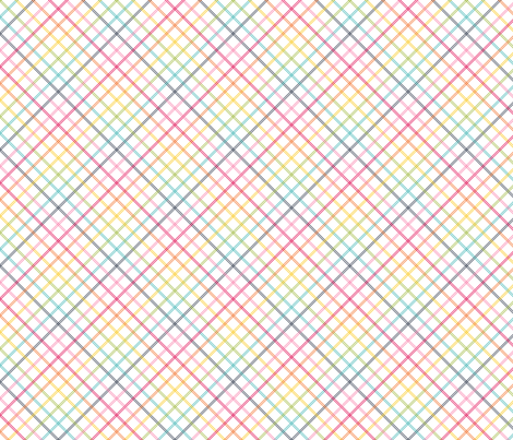 live free : love life plaid fabric by misstiina on Spoonflower - custom fabric