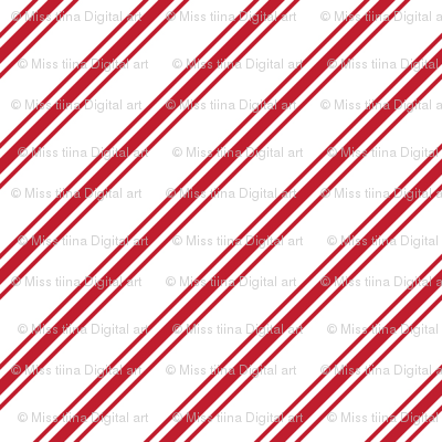 christmas candy cane stripes red
