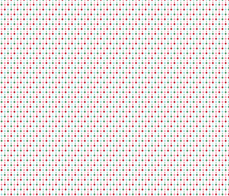 christmas diamonds dots fabric by misstiina on Spoonflower - custom fabric