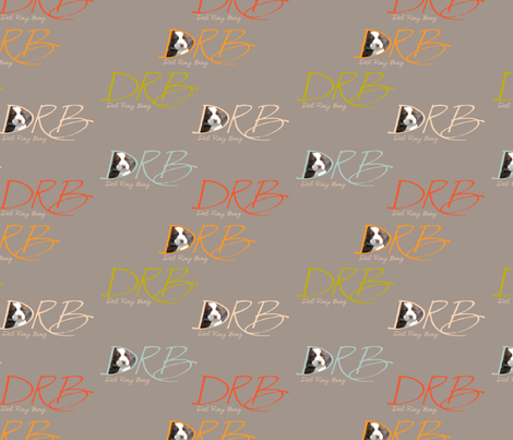 Del_Ray_Bag_Grey_4x4 fabric by weatherkim on Spoonflower - custom fabric