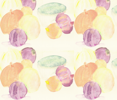 lemon,limes and more fabric by artist55 on Spoonflower - custom fabric